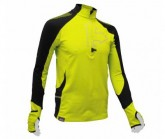 Shirt Wintertrail ML Herren lime green/black