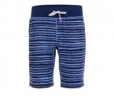 Short Comfort Printed Herren water stripe print/ocean deep