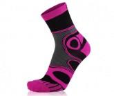 Socke Mountainbike unisex schwarz/pink