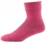 Socken Road Ankle mit Hydrostop Unisex neon pink/charcoal