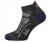 Socken SIN3RGI S3 Light Low TRAIL Damen chacrcoal/aubergine