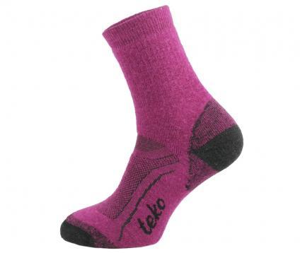 Socken SIN3RGI S3 Midweight Hiking Damen cranberry