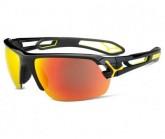 Sportbrille S´Track Medium Unisex shiny black yellow