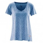 T-Shirt Allover Print Esta Damen Wave
