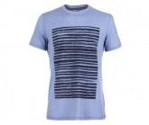 T-Shirt Graphic Herren light stine/water stripe location prin
