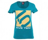 T-Shirt Logo Damen harbor blue