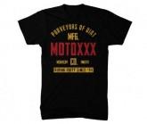 T-Shirt Moto Gasket Herren black