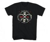 T-Shirt Moto Ignite Herren black