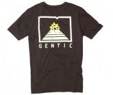 T-Shirt New School Herren Moonless Black