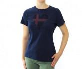 T-Shirt SS Crew Signo Primavera 20 Damen peacoat