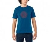 T-Shirt Transfer Herren indigo/redwood