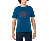 T-Shirt Transfer Herren indigo/redwood