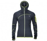 Thermal Jacke Malaspina Herren whales grey/green lime
