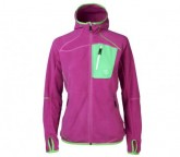 Thermal Jacke Muzat Damen dark violet/green