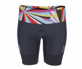 Triathlon Performance 8inch Short Damen kaleidoscope/black