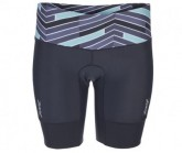 Triathlon Performance 8inch Short Damen waves/black