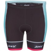 Triathlon Tri Team 6inch Short Damen aquamarine/passion fruit