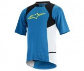Trikot Drop 2 S/S Herren blue/yellow