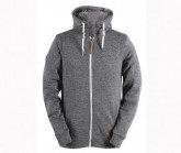Wave Fleecejacke Grolanda Herren dark grey