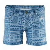 Woven Short Allover Print Reka Damen Wave