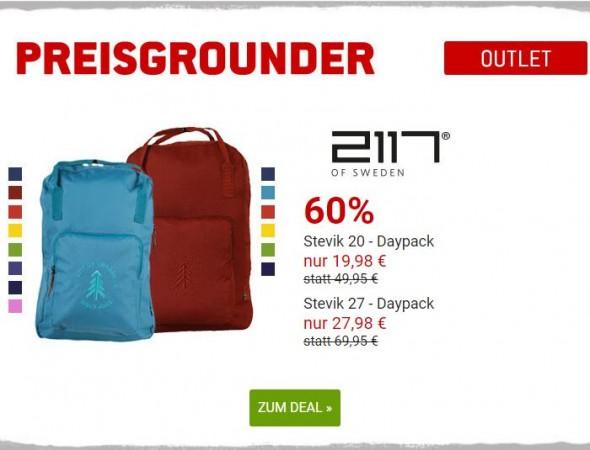 2117 of Sweden Daypacks um 60% reduziert
