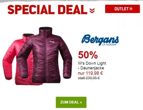 Bergans Ws Down Jacket - Daunenjacke um 50% reduziert