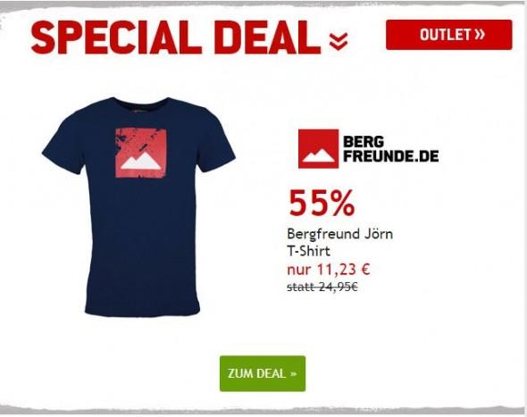 Bergfreunde Jörn T-Shirt um 55% reduziert