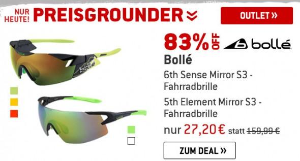 Bollé Fahrradbrillen um 83% reduziert