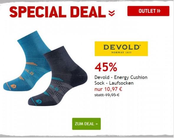Devold - Energy Cushion Laufsocken um 45% reduziert