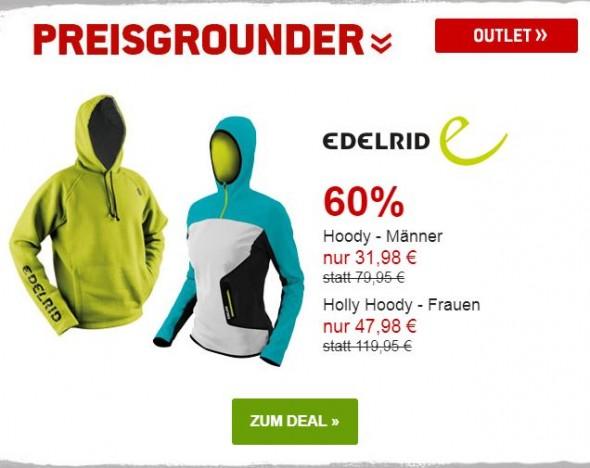 Edelrid - Hoodies für Männer und Frauen um 60% reduziert