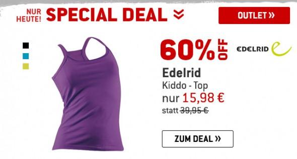 Edelrid - Kiddo-Top um 60% reduziert