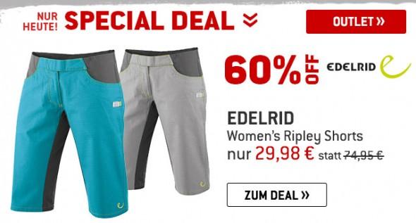 Edelrid - Womens Ripley Shorts um 60% reduziert