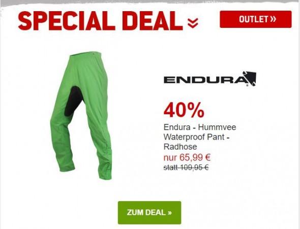 Endura Hummvee Waterproof Pant - Radhose um 40% reduziert