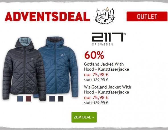 Gotland Jacken von 2117 of Sweden um 60% reduziert