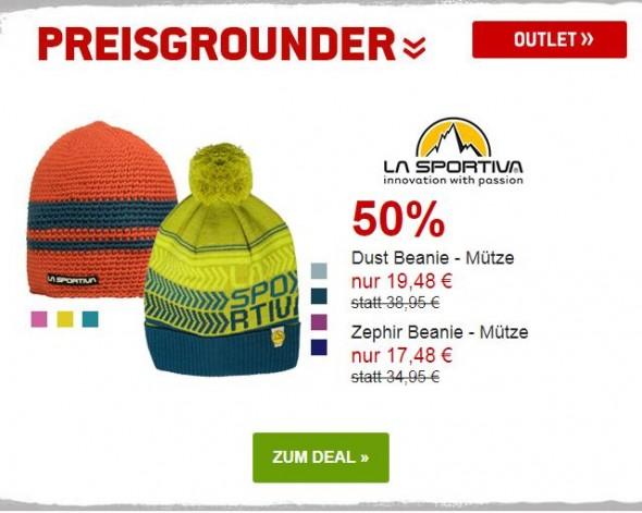 La Sportiva Dust & Zephir Mützen um 50% reduziert