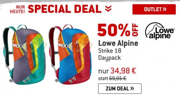 Lowe Alpine - Strike 18 - Daypack um 50% reduziert
