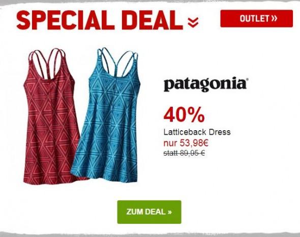 Patagonia Latticeback Dress um 40% reduziert
