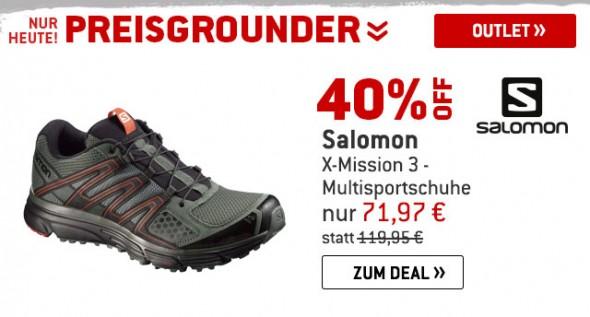 Salomon - X-Missiion 3 - Multisportschuhe um 40% reduziert