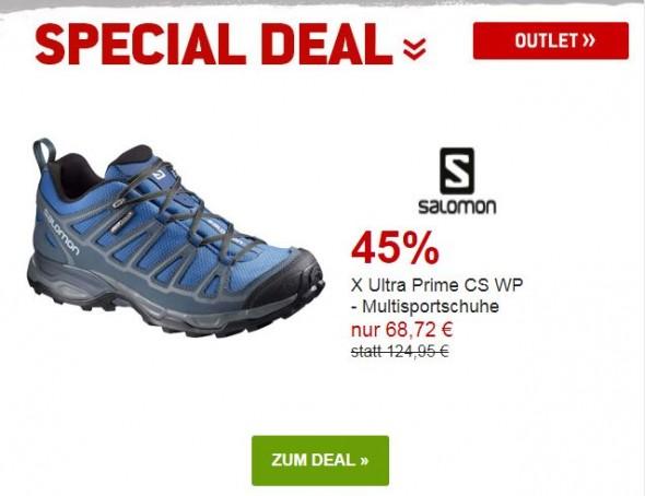Salomon - X Ultra Prime CS WP - Mulitsportschuhe um 45% reduziert