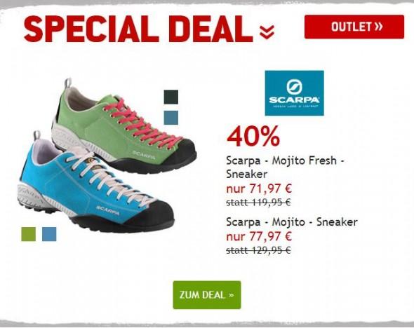 Scarpa Sneaker um 40% reduziert