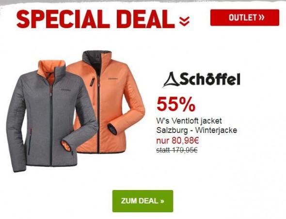 Schöffel Womens Ventloft jacket Salzburg - Winterjacke um 55% reduziert