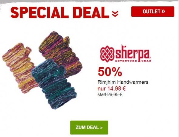 Sherpa - Rimjhim Handwarmers um 50% reduziert