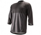 3/4 Bike Trikot Sleeve Trail Jersey Herren black