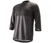 3/4 Bike Trikot Sleeve Trail Jersey Herren black
