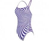 Badeanzug Magic Aquaback Damen purple multi