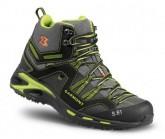 Bergschuh 9.81 Trail Pro II Mid GTX Herren black/green