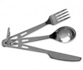 Besteck-Set Titanium Knife, Fork & Spoon
