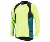 Bike Shirt Drop 2 LS Herren green/black