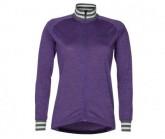 Bike Shirt LS Laizy Damen purple mel.