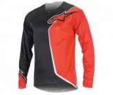 Bike Shirt Sierra LS Herren black/red